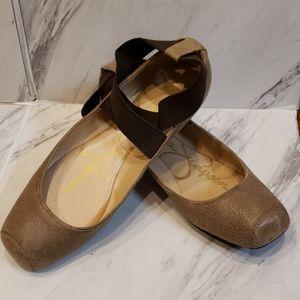 Womens Sz 7 Jessica Simpson Ballet Style Flats